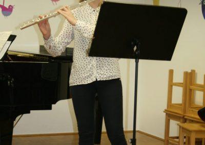 Nastop učencev flavte, kitare in klarineta