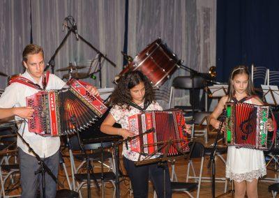 Letni koncert komornih skupin in pihalnega orkestra